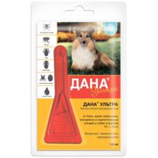 """Капли на холку Apicenna """"Дана"""" для собак и щенков, 10-20 кг, 1 пипетка 1.6 мл"""