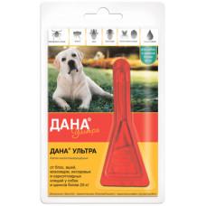 """Капли на холку Apicenna """"Дана"""" для собак и щенков, более 20 кг, 1 пипетка, 3.2 мл"""