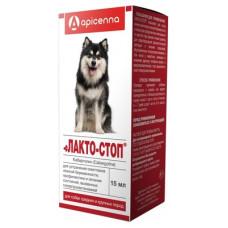 """Капли Apicenna """"Лакто-Стоп"""" для собак средних и крупных пород, 15 мл"""