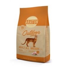 Корм Araton для активных кошек, курица/индейка