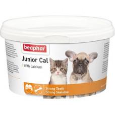 Витамины Beaphar Junior Cal для котят и щенков, порошок, 200 г