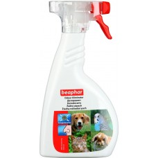 Спрей-уничтожитель запаха  вызванного животными в помещении Beaphar Odour Killer Spray, 400 мл