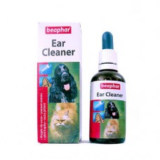 Лосьон Beaphar Ear Cleaner для ушей кошек и собак, 50 мл
