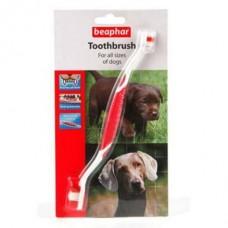 Зубная щетка двойная для собак