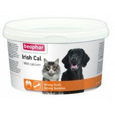 Минеральная смесь Beaphar Irish Cal с повышенным содержанием солей кальция, 250 г