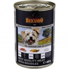 """Belcando консервы для собак """"Мясо с лапшой"""", Quality Meat&Noodles, 400 гр"""
