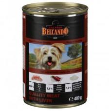"""Belcando консервы для собак """"Мясо с печенью"""", Quality Meat&Liver, 400 гр"""