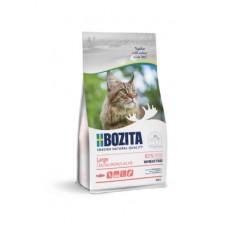 Корм Bozita Large Wheat Free Salmon 31/18 для молодых и взрослых кошек крупных пород, беззерновой, без пшеницы, лосось