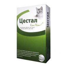 """Ceva """"Цестал"""" для кошек от глистов, 8 таблеток"""