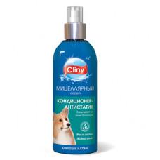 Спрей-антистатик Cliny для кошек и собак, 200 мл