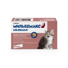 Elanco Мильбемакс для котят и маленьких кошек, 2 таблеток