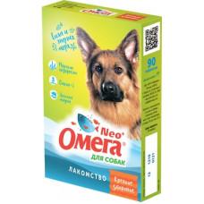 Мультивитаминное лакомство Омега Neo для собак, морские водоросли, 90 таблеток