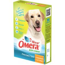 """Мультивитаминное лакомство Омега Neo """"Здоровые суставы"""" для собак, глюкозамин/коллаген, 90 таблеток"""