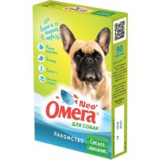 """Мультивитаминное лакомство Омега Neo """"Свежее дыхание"""" для собак, мята/имбирь, 90 таблеток"""