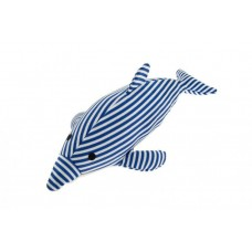 """Игрушечный дельфин """"Полосатик"""" не тонущий 17X39 см, DELFINO OCEAN GALLEGGIANTE"""