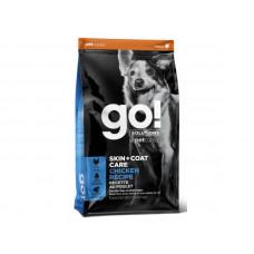 Корм GO! SKIN + COAT Chicken Recipe DF 24/14 для щенков и собак, цельная курица/фрукты/овощи
