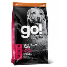 Корм GO! Skin + Coat Lamb Meal Recipe DF 22/14 для щенков и собак, свежий ягненок