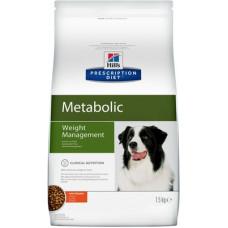 Корм Hills Prescription Diet Metabolic для собак, способствует снижению и контролю веса, диетический, курица