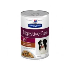 Корм Hills Prescription Diet i/d для собак при расстройствах ЖКТ, диетический, курица/овощи, рагу, банка, 354 г