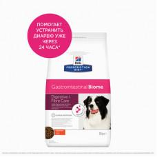 Корм Hills Prescription Diet Gastrointestinal Biome для собак при расстройствах пищеварения и для заботы о микробиоме кишечника, диетический, курица