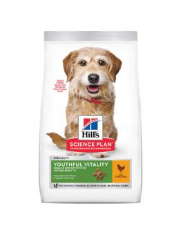 Корм Hills Science Plan Youthful Vitality для пожилых собак (7+) мелких пород, поддержания здоровья в период старения, курица, 1.5 кг