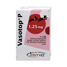 Intervet Вазотоп, 3х28 таблеток по 1.25 мг