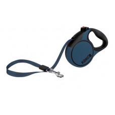 Рулетка Kong Terrain, S, для собак, лента, 5 м, до 20 кг, синяя