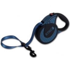 Рулетка Kong Ultimate, XL, для собак, лента, 5 м, до 70 кг, синяя
