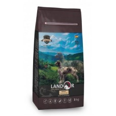 Корм Landor Adult для взрослых собак всех пород, ягненок