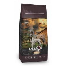 Корм Landor Adult Large Breed для собак крупных пород, ягненок