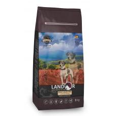 Корм Landor Adult для взрослых собак всех пород, ягненок/батат