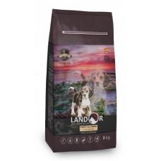 Корм Landor Puppy для щенков всех пород от 1 до 18 месяцев
