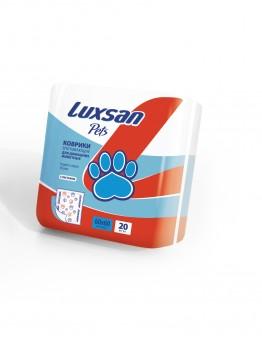 Пеленки для животных 60x60 см, 20 шт. (100% целлюлоза)