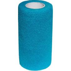 Бинт самофиксирующийся Luxsan, голубой, 10х450 см