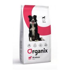 Корм Organix Adult Dog Lamb для взрослых собак с чувствительным пищеварением, ягненок, 12 кг