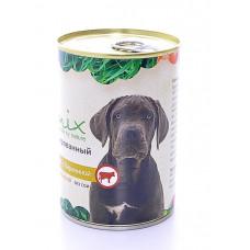 Корм Organix для собак, говядина/баранина, банка, 410 г