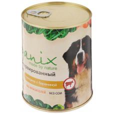 Корм Organix для собак, говядина/баранина, банка, 850 г