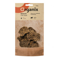 Лакомство Organix Премиум для кошек, чипсы из говяжьих потрошков, 50 г