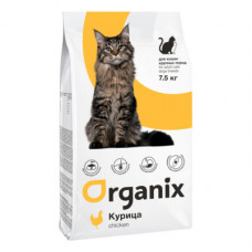 Корм Organix Adult Large Cat Breeds для взрослых кошек крупных пород