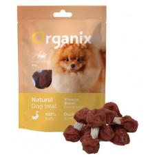 Лакомство Organix Duck fillet/ dumbbell для собак малых пород, утиные гантельки, 100% мясо, 50 г