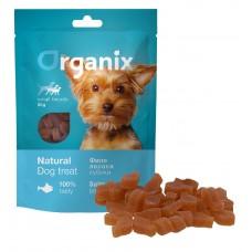 Лакомство Organix Salmon Bites для собак малых пород, кубики из лосося, 50 г