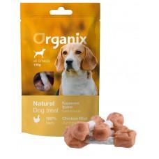 Лакомство Organix Chicken fillet/ dumbbell для собак, куриные гантельки, 100 г