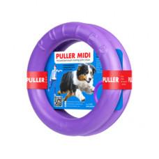 Тренировочный снаряд PULLER Midi для собак, два кольца, диаметр 20 см