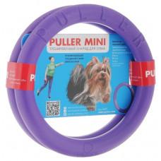 Тренировочный снаряд PULLER Mini для собак, два кольца, диаметр 18 см