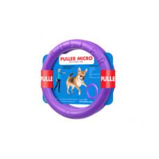Тренировочный снаряд PULLER Micro для собак, два кольца, диаметр 12.5 см