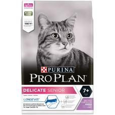 Корм Pro Plan Senior для пожилых кошек, индейка