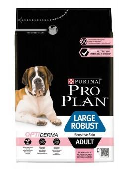 Корм ProPlan Large Adult Robust Sensitive Skin Salmon для взрослых собак крупных пород мощного телосложения с чувствительной кожей, лосось