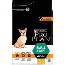 Корм ProPlan Adult Small Breed Chicken&Rice для взрослых собак малых и карликовых пород, курица