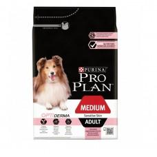 Корм Purina Pro Plan для взрослых собак с чувствительной кожей, лосось и рис, Adult Sensitive, 14 кг