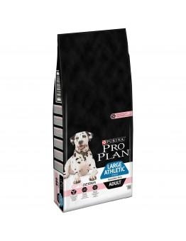 Корм ProPlan Large Adult Athletic Sensitive Skin Salmon для собак крупных пород атлетически сложенных с чувствительной кожей, лосось